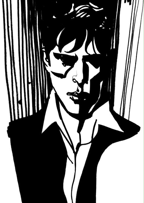 Dylan Dog. Illustrazione di Nicola Mari
