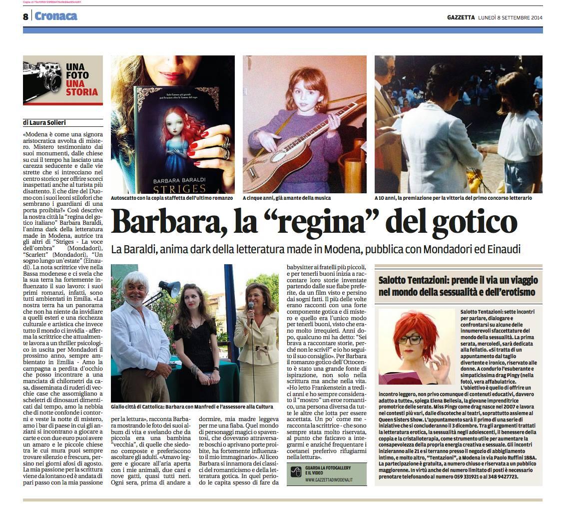 la Gazzetta di Modena
